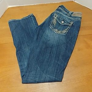 Silver Suki flap baby boot distressed jeans 32